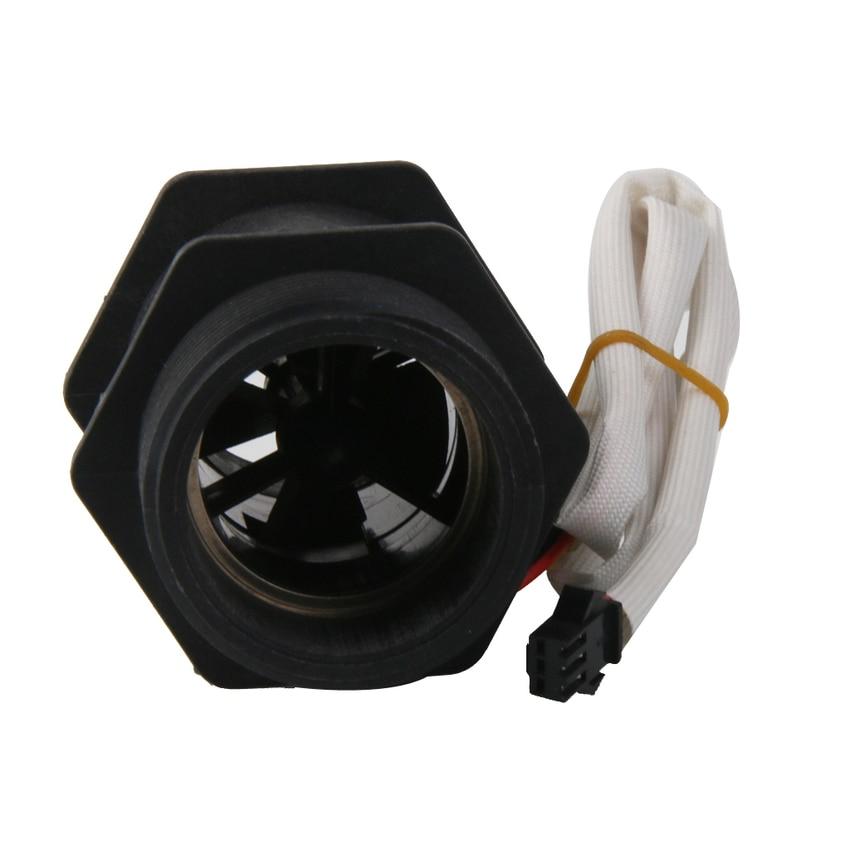 DN40 Water Flow Sensor Flowmeter Hall Flow Sensor Control for 1.5 Pipe coffee maker water dispenser flowmeter flow sensor inner diameter 3mm dc 5 24v