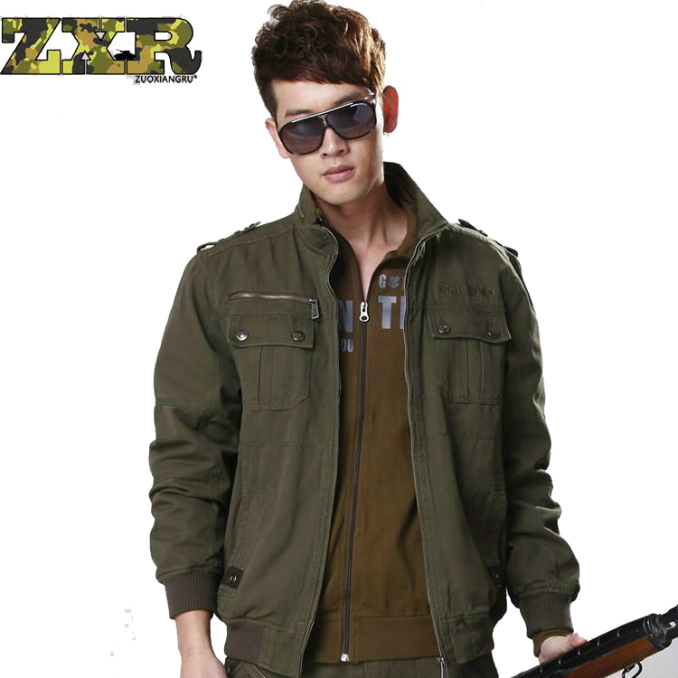 Refire Gear Winter Autumn Military Style Tactical Jacket Men Cotton Army Pilot Coat Brand Clothing Casual Air Force Man Jackets