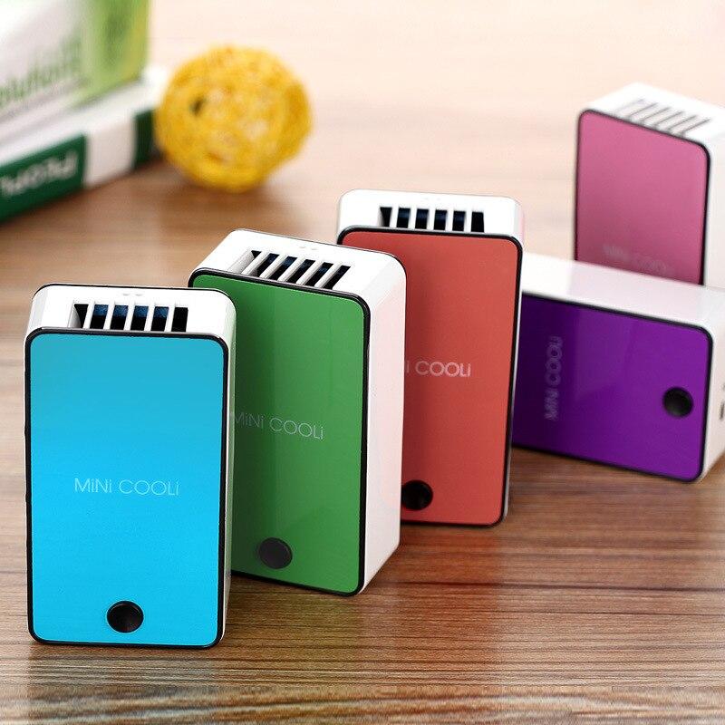 Nuovo aggiornamento Mini tenuto in mano portatile scrivania condizionatore d'aria umidificazione raffreddamento ventola di raffreddamento