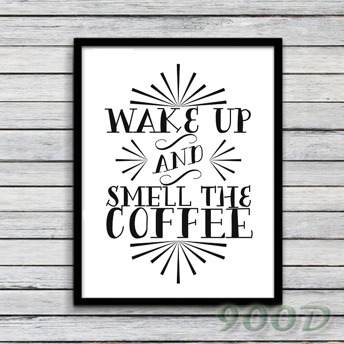 Inspiration Quote Canvas Art Print Poster, Wall Pictures For Office ...
