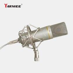 USB Studio Condenser Recording Microphone Kit With Adjustable Shock Mount For Computer Youtube Tiktok Live Broadcast