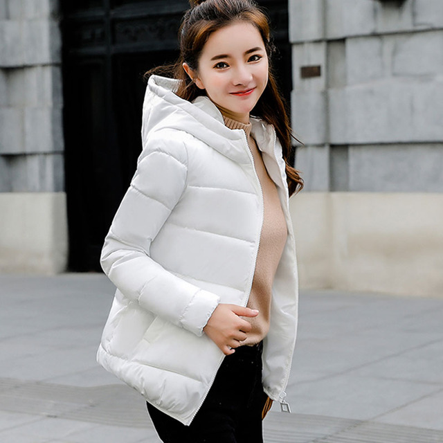 4276fd663e NIJIUDING Winter Coat Women 2018 New Autumn Coats Women Parkas Short Slim  Thick Warm Down Jacket