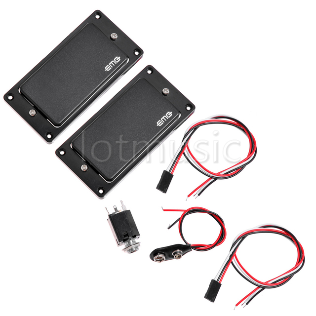 emg 81 85 active pickup closed type electric guitar pickups poweremg 81 85 active pickup closed type electric guitar pickups power guitar pickup set black