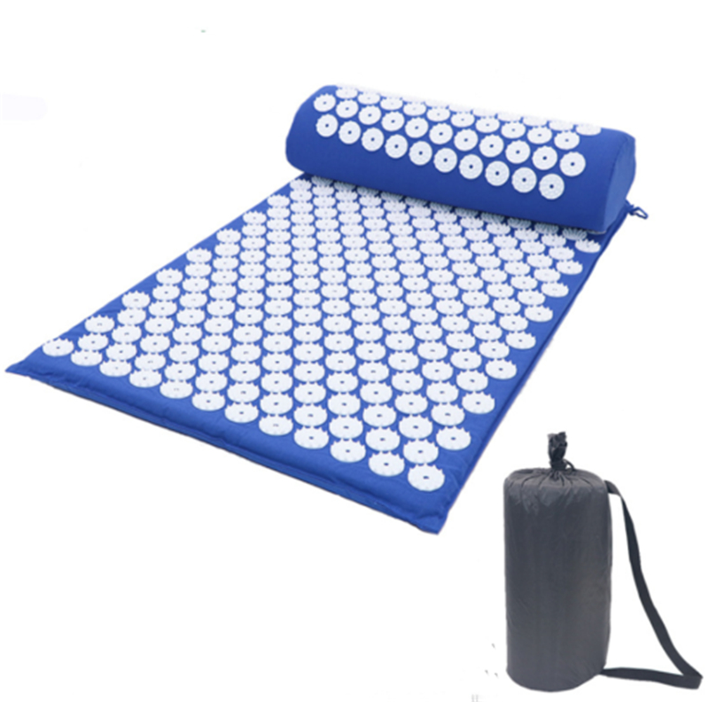 Acupressure Massage Mat for Stress Tension Relaxation with Spike Cushion and Pillow set 3