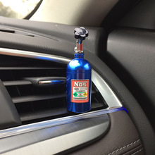 Turbo NOS Metal Bottle Car Air Freshener Perfume Clip Gel perfume for BMW Audi Ford Volkswagen Honda Toyata Nissan accessories