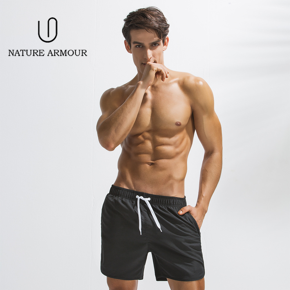 2019 New Summer Men Beach   Short     Board     Shorts   Plus-size Five-point Trousers Casual Sports Pants Swimming   Shorts   Wimming Pants