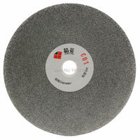 5 Inch 125mm Quality Electroplated Diamond Coated Flat Lap Disk Grinding Polishing Wheel Grit 100 Coarse