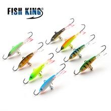 FISH KING 1PC 12G/6.7CM Ice Fishing Lures Winter Bait Hard Lure Balancer for Fishing Baits Lead Jigging