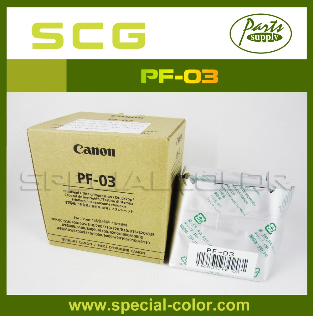 Fedex Free Shipping for Canon PF-03 Printhead with New Packing (100% New) for Canon IPF500/600/700