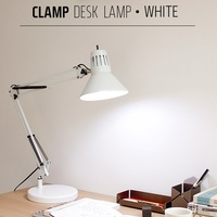 Swing Arm Clamp Architect Desk Lamp Dimmable