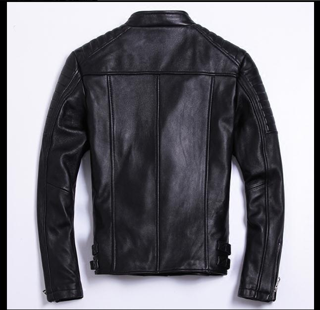 HTB1zdd5wv1TBuNjy0Fjq6yjyXXaw Moto biker style,Plus size Brand soft sheepskin leather Jackets,mens genuine Leather jacket, motorbiker slim coat