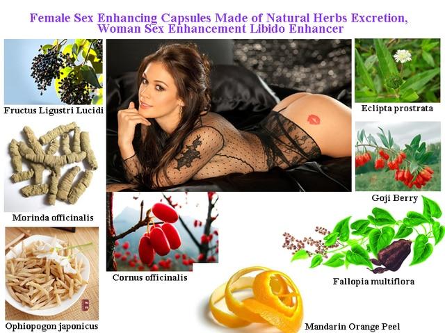 Female orgasm vegetable