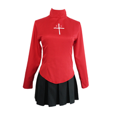 The Holy Grail War Tohsaka Rin Cosplay Costume Halloween Costumes Women Full set Uniform Suit larry swedroe e the quest for alpha the holy grail of investing