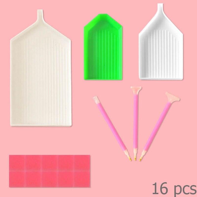 YTG,Tool Box,Diamond Embroidery,Kit,Diamond Painting,Tools,Pen,Tweezer,Tray,Lighten Pen,Bags,DIY Kits,Cross Stitch,Needlework