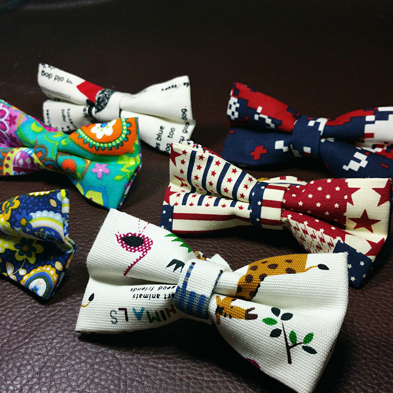45 Style Mans Bowtie Adult Cotton Bowties Casual Bow Tie Accessories Polyester Bowknot Christmas Bow Ties