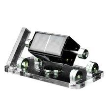 Солнечный горизонтальный четырехсторонний Магнитный левитационный двигатель мендочино двигатель перемешивания модель образования