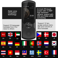 iFLYTEK Languages Instant Translator Voice Xiaoyi 2.0 AI Instant Voice Traductor with 13Mp Camera support 32 Country Languages
