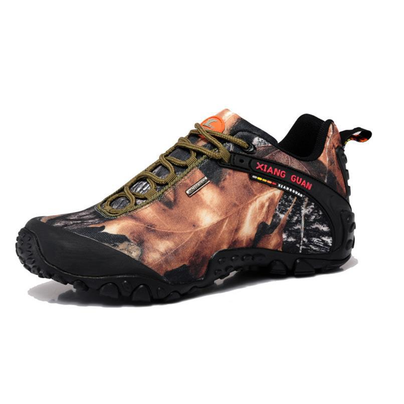 Unisex Camouflage Outdoor Trekking Hiking Shoes Sneakers For Women And Men Sport Climbing Mountain Shoes Man Senderismo humtto new hiking shoes men outdoor mountain climbing trekking shoes fur strong grip rubber sole male sneakers plus size