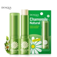 BIOAQUA beauty & health natural chamomile moisturizing lip balm repair lips wrinkles fade lip lines lipstick lip care skin care