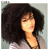 Afro Kinky Curly Bulk Hair For Braiding 100% Human Hair Crochet Braids Hair Bulk No Weft Mongolian Remy Hair Products CARA