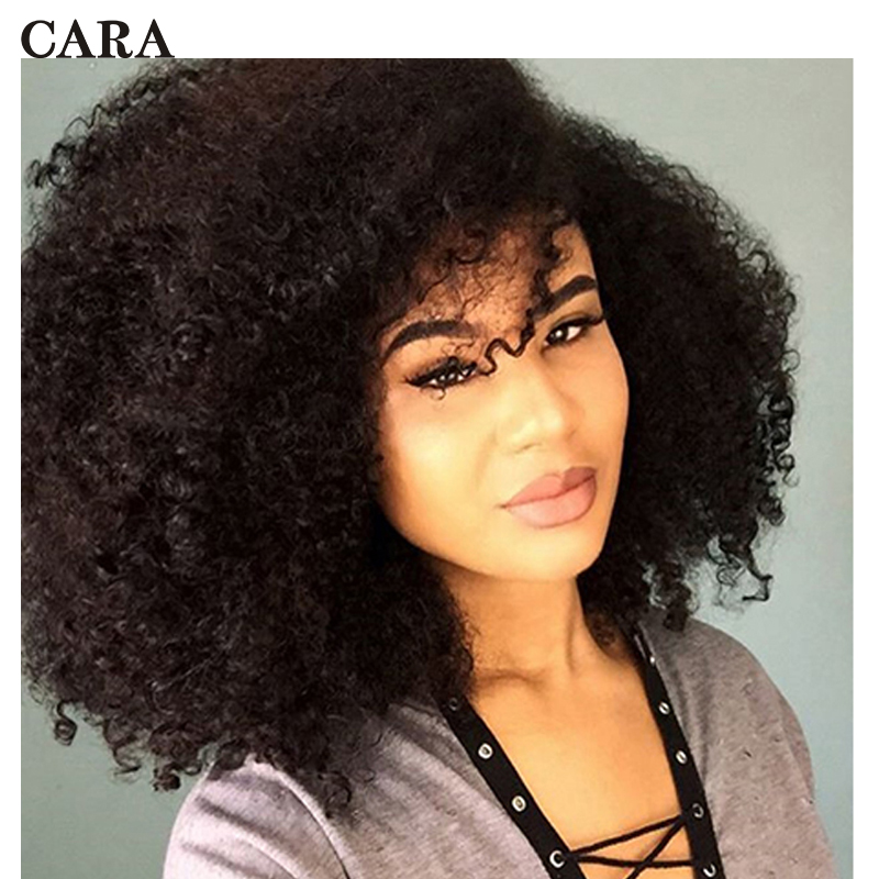 Afro Kinky Curly <font><b>Bulk</b></font> Hair For Braiding 100% Human Hair Crochet Braids Hair <font><b>Bulk</b></font> No Weft Mongolian Remy Hair Products CARA image