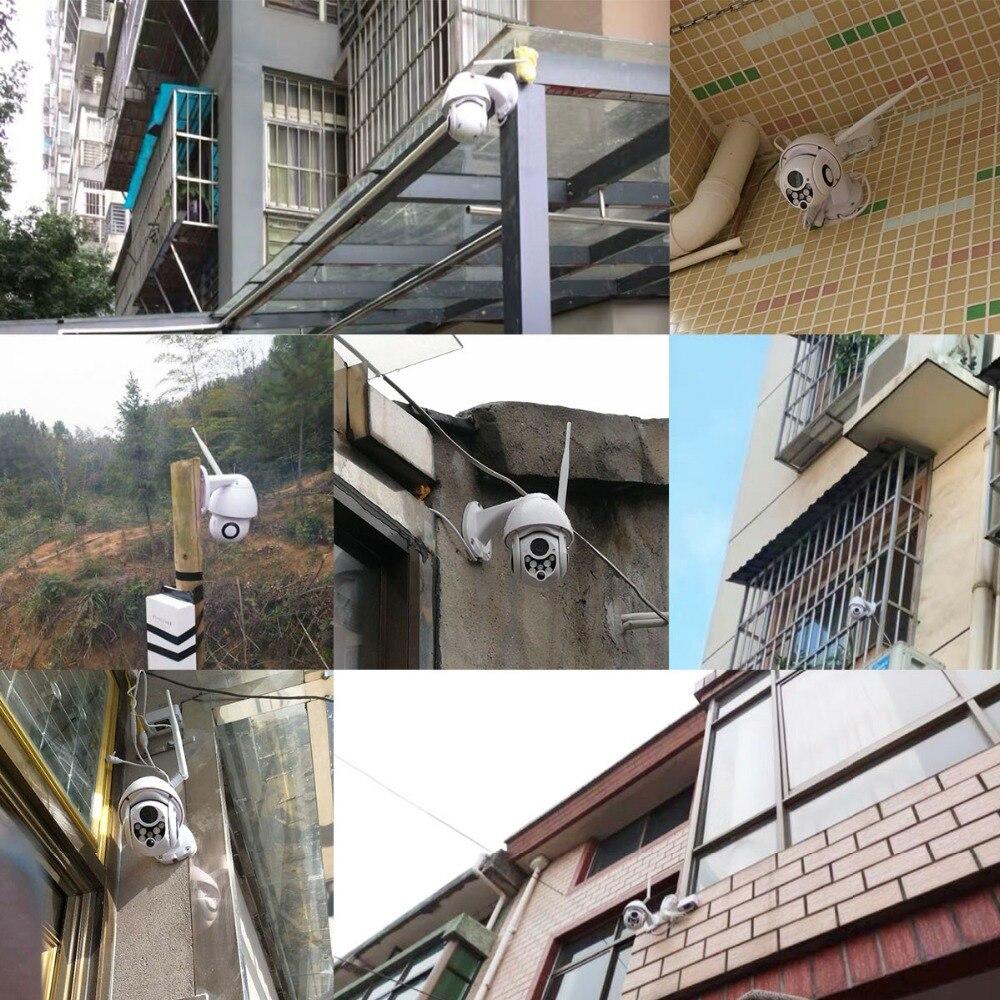 BESDER 1080P Cloud Storage Wireless PTZ IP Camera 4X Digital Zoom Speed Dome Camera Outdoor WIFI Audio P2P CCTV Surveillance