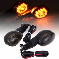 Motorcycle LED Amber Front Rear Turn For Kawasaki NINJA 250R 2010 2011 2012 LED Turn Indicator