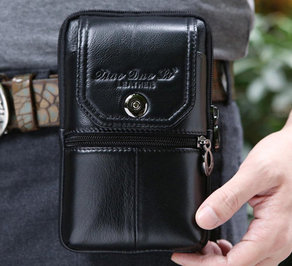 bolsa cinto pacote de cintura Material Principal : Couro Genuíno