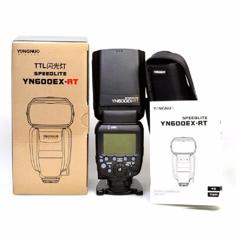 YONGNUO YN600EX-RT Wireless HSS Flash Speedlite Unit Master TTL for Canon Camera yongnuo yn e3 rt ttl radio trigger speedlite transmitter as st e3 rt for canon 600ex rt yongnuo yn600ex rt