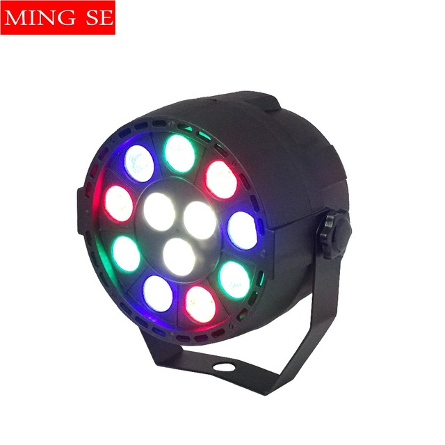 12x3W Mini LED Par RGBW LED Stage Light 12*3W Par Light Wall Wash Light For Bar KTV Party Stage Lighting