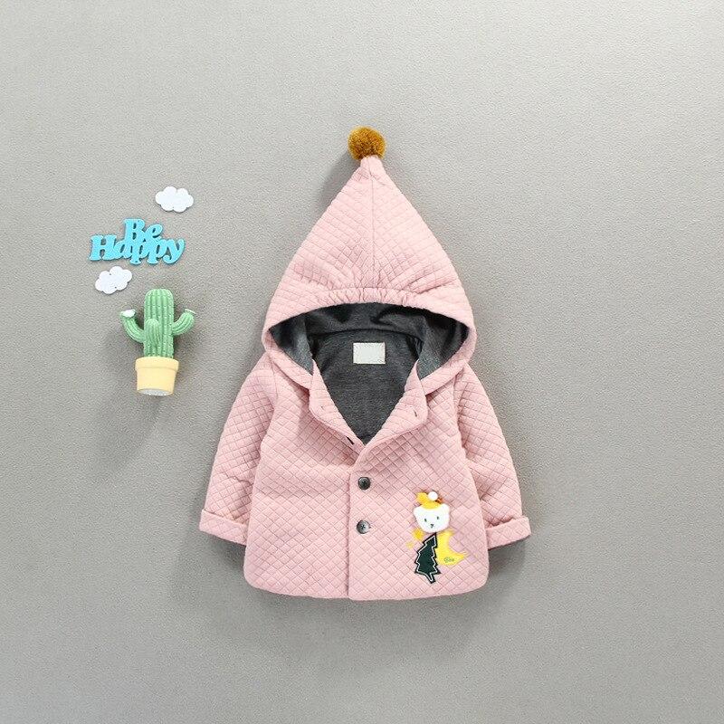 Clever 2018 Neue Heißer Verkauf Casaco Infantil Menina Bibicola Baby Herbst Winter Mantel 0 ~ 3 Jahr Altes Mädchen Krempe Ling Der Warme Einreiher