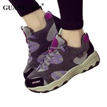 New 2016 Women shoes Casual shoes lace up Anti-slip outdoor shoes fashion women trainers wholesales sn601