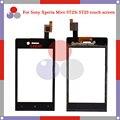 """Высокое качество 3.5 """"Для Sony EXperia ST23i Миро ST23 Сенсорным Экраном Дигитайзер Датчик Передняя панель Стеклянный Объектив"""