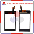 "high quality 3.5"" For Sony EXperia Miro ST23i ST23 Touch Screen Digitizer Sensor Front Glass Lens panel"