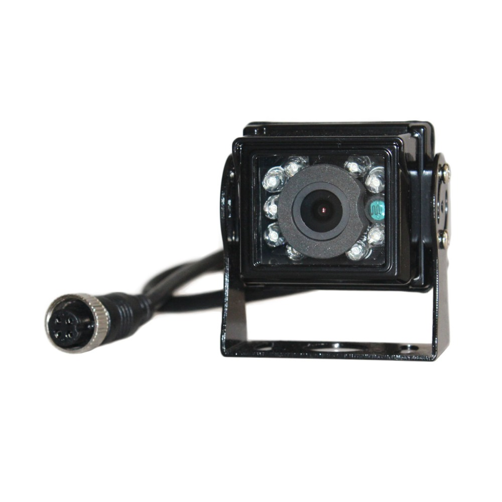 DIYKIT DC12V-24V 4PIN 4,3 inch Reverse Rückansicht Auto Monitor Backup CCD IR Nachtsicht Bus Lkw Auto Kamera freies auto Ladegerät