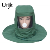 Urijk Sand Preventing Cloths Dust Mask Industrial Protective Tool Hat Anti Stive Anti Dust Mask Woodworking