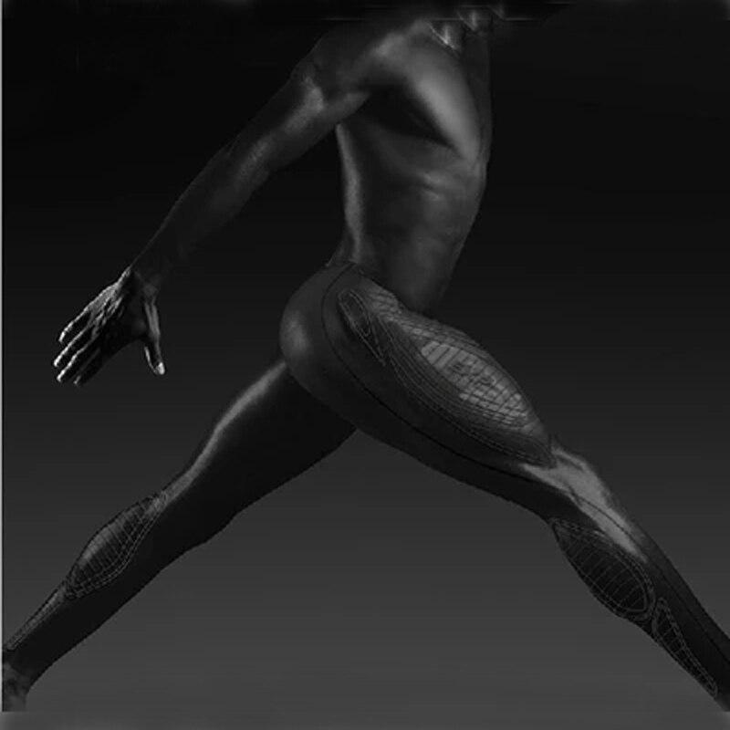 Hombre de compresión Pantalones deportes corriendo medias baloncesto Pantalones deportivos corredor correr fitness skinny leggings Pantalones