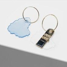 Irregular asymmetrical pendant earrings for women fashionable eardrop