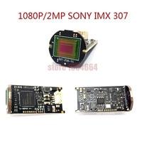 AHD/TVI/CVI/CVBS 4 IN 1 1080P 2MP 1/3 Sony CMOS IMX307 Sensor Module AHD Bullet CCTV Camera board module chip free shipping