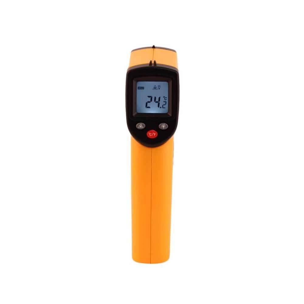 Nie-skontaktuj się z cyfrowy LCD pistolet termometr na podczerwień IR Laser punkt termiczna do obrazowania w podczerwieni temperatury ręczny miernik pirometr
