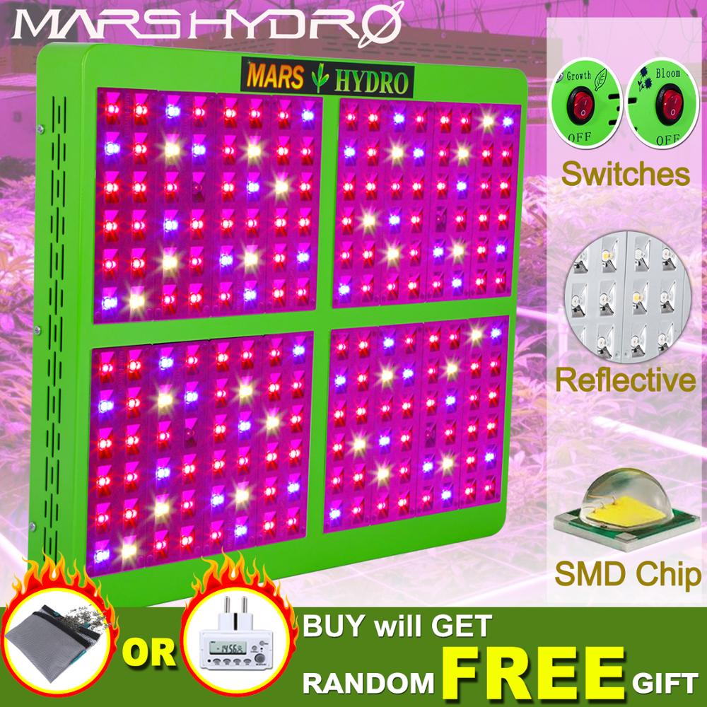 Mars Hydro Full Spectrum Reflector 1000W  LED Grow Light Indoor Garden Hydro System Indoor Grow Tent Plants HydroponicsMars Hydro Full Spectrum Reflector 1000W  LED Grow Light Indoor Garden Hydro System Indoor Grow Tent Plants Hydroponics