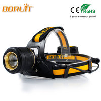 Camping Led Headlight Headlamp Flashlight Zoomable Head Light Torch Linterna Xml L2 Use 4 AA Battery