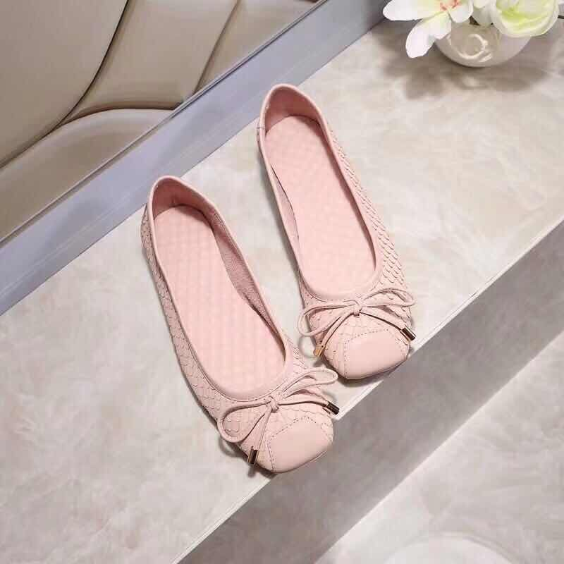 New arrival 2018 spring and autumn women shoes slip on square toe genuine leather causal shoes