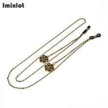 Fashion Pendant Eye Glasses Chain Sunglasses Spectacles Rose Flower Peace Chain Holder Cord Lanyard