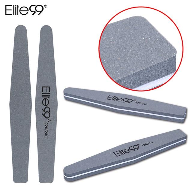 Elite99 Schleif Datei Nail art Datei Buffer Glatte Buff Putzer Schleif Datei Maniküre Form Glänzende Polieren Werkzeug 220/240