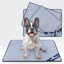 Portable Dog Summer Cooling Mats Blanket Ice Pet Bed For Dogs Cats Sofa Tour Camping Yoga Sleeping Accessories