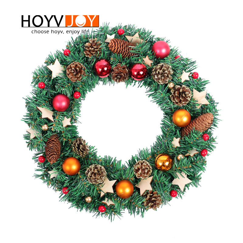 HOYVJOY2018 New Vitality Series HandmadeWood Chips Stars Wreath For Front Door Floral Wall Room Gift Wedding Decor Summer Aut in Wreaths Garlands from Home Garden