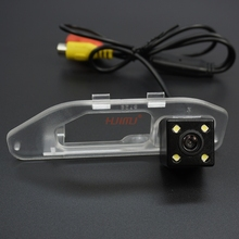 Wire Wireless 4LED Car Rear View License Plate Camera for HONDA XR-V  2015 Parking Backup Camera Waterproof