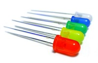 New Arrival 1000Pcs Set 5mm Round Diode LED Blue Green Yellow Red White Lamp Mixed Color