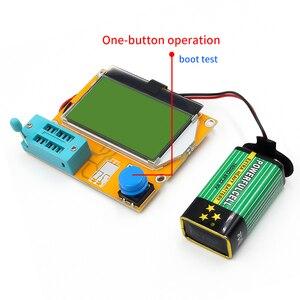 Image 3 - LCR T4 cyfrowy Tester próbnik elektroniczny rezystor kondensator Tester diody indukcyjności multimetr